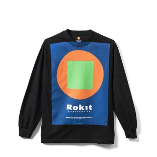 <img class='new_mark_img1' src='//img.shop-pro.jp/img/new/icons20.gif' style='border:none;display:inline;margin:0px;padding:0px;width:auto;' />【ROKIT】The Exhibition Long Sleeve Tee