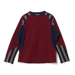 <img class='new_mark_img1' src='//img.shop-pro.jp/img/new/icons5.gif' style='border:none;display:inline;margin:0px;padding:0px;width:auto;' />【White Mountaineering】CONTRASTED RAGLAN SWEATSHIRT