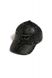 <img class='new_mark_img1' src='//img.shop-pro.jp/img/new/icons5.gif' style='border:none;display:inline;margin:0px;padding:0px;width:auto;' />【BLACK EYE PATCH】LABEL FAKE LEATHER 6-PANEL CAP