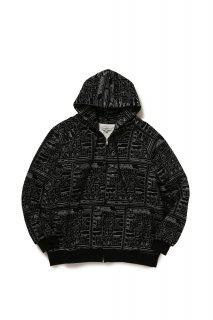 <img class='new_mark_img1' src='//img.shop-pro.jp/img/new/icons20.gif' style='border:none;display:inline;margin:0px;padding:0px;width:auto;' />【BLACK EYE PATCH】LABEL ZIP HOODIE