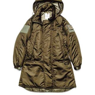 <img class='new_mark_img1' src='//img.shop-pro.jp/img/new/icons5.gif' style='border:none;display:inline;margin:0px;padding:0px;width:auto;' />【uniform experiment】PADDED MILITARY LONG PARKA