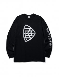 【BLACK EYE PATCH】EMBLEM L/S TEE