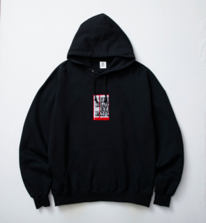 <img class='new_mark_img1' src='//img.shop-pro.jp/img/new/icons5.gif' style='border:none;display:inline;margin:0px;padding:0px;width:auto;' />【BLACK EYE PATCH】LABEL HOODIE