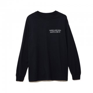 【WIND AND SEA】LONG SLEEVE CUT-SEWN SANTA CRUZ