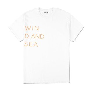 <img class='new_mark_img1' src='//img.shop-pro.jp/img/new/icons5.gif' style='border:none;display:inline;margin:0px;padding:0px;width:auto;' />【WIND AND SEA】WIND AND SEA CLASSIC LOGO TEE
