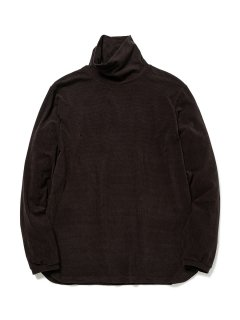 【nonnative】DWELLER TURTLE NECK L/S TEE A/M/P JERSEY BORDER