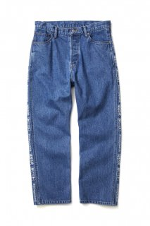 <img class='new_mark_img1' src='//img.shop-pro.jp/img/new/icons5.gif' style='border:none;display:inline;margin:0px;padding:0px;width:auto;' />【BLACK EYE PATCH】HANDLE WITH CARE DENIM PANTS