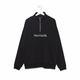 <img class='new_mark_img1' src='//img.shop-pro.jp/img/new/icons5.gif' style='border:none;display:inline;margin:0px;padding:0px;width:auto;' />【WIND AND SEA】WDS HALF ZIP SWEAT SHIRT
