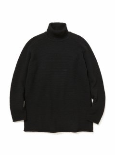 【nonnative】HIKER TURTLE NECK SWEATER W/M/N YARN