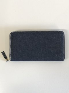 【COMME des GARCONS WALLET】DENIM LONG WALLET