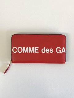【COMME des GARCONS WALLET】HUGE LOGO LONG WALLET