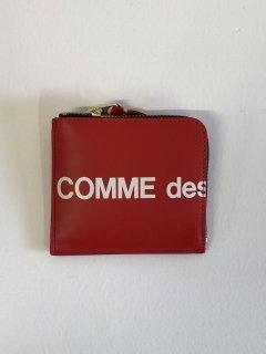 【COMME des GARCONS WALLET】HUGE LOGO COIN CASE