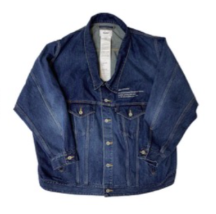 <img class='new_mark_img1' src='//img.shop-pro.jp/img/new/icons5.gif' style='border:none;display:inline;margin:0px;padding:0px;width:auto;' />【doublet】MARIONETTE SILK DENIM JACKET