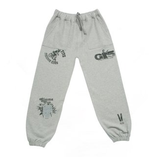 <img class='new_mark_img1' src='//img.shop-pro.jp/img/new/icons5.gif' style='border:none;display:inline;margin:0px;padding:0px;width:auto;' />【Gimme Five】FAMOUSE SWEATPANTS