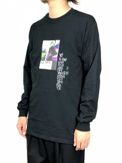 <img class='new_mark_img1' src='//img.shop-pro.jp/img/new/icons5.gif' style='border:none;display:inline;margin:0px;padding:0px;width:auto;' />【Mark Gonzales】PHOTO PRINT LONG SLEEVE T-SHIRT