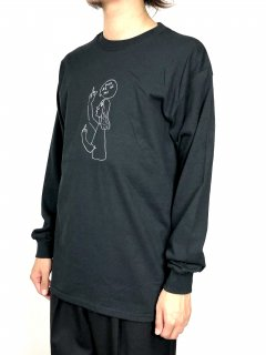 <img class='new_mark_img1' src='//img.shop-pro.jp/img/new/icons5.gif' style='border:none;display:inline;margin:0px;padding:0px;width:auto;' />【Mark Gonzales】FUCK ALL OF YOU PRINT LONG SLEEVE T-SHIRT