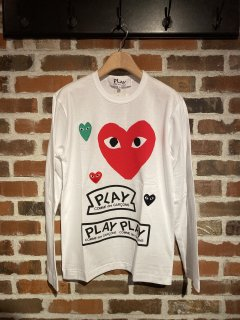 <img class='new_mark_img1' src='//img.shop-pro.jp/img/new/icons5.gif' style='border:none;display:inline;margin:0px;padding:0px;width:auto;' />【PLAY COMME des GARCONS】T284(メンズ)