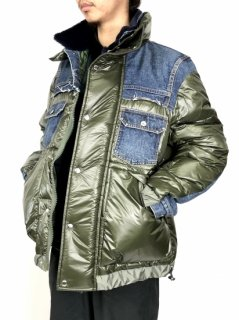 <img class='new_mark_img1' src='//img.shop-pro.jp/img/new/icons5.gif' style='border:none;display:inline;margin:0px;padding:0px;width:auto;' />【sacai】Denim × Padded Blouson