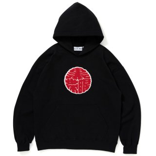 <img class='new_mark_img1' src='//img.shop-pro.jp/img/new/icons5.gif' style='border:none;display:inline;margin:0px;padding:0px;width:auto;' />【BLACK EYE PATCH】KAMON HOODIE