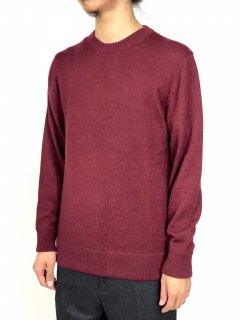 【THE INOUE BROTHERS...】Crew Neck Jersey Sweater