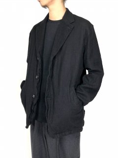 <img class='new_mark_img1' src='//img.shop-pro.jp/img/new/icons5.gif' style='border:none;display:inline;margin:0px;padding:0px;width:auto;' />【COMME des GARCONS HOMME】ウールサージ製品縮絨テーラードジャケット