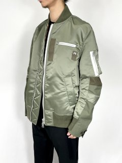<img class='new_mark_img1' src='https://img.shop-pro.jp/img/new/icons5.gif' style='border:none;display:inline;margin:0px;padding:0px;width:auto;' />【sacai】Nylon Twill MA-1 Blouson