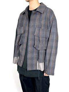 【WELLDER】Layered Jacket