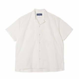 <img class='new_mark_img1' src='https://img.shop-pro.jp/img/new/icons5.gif' style='border:none;display:inline;margin:0px;padding:0px;width:auto;' />【White Mountaineering】BROAD OPEN COLLAR SHIRT
