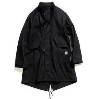 【uniform experiment】SLEEVE PANELED MODS COAT