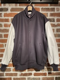 <img class='new_mark_img1' src='https://img.shop-pro.jp/img/new/icons5.gif' style='border:none;display:inline;margin:0px;padding:0px;width:auto;' />【Graphpaper】Scale Off Melton Stadium Jacket