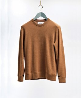 <img class='new_mark_img1' src='https://img.shop-pro.jp/img/new/icons5.gif' style='border:none;display:inline;margin:0px;padding:0px;width:auto;' />【THE INOUE BROTHERS...】Baby Alpaca Crew Neck Jersey Sweater