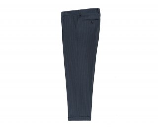 <img class='new_mark_img1' src='https://img.shop-pro.jp/img/new/icons5.gif' style='border:none;display:inline;margin:0px;padding:0px;width:auto;' />【WACKO MARIA】STRIPED PLEATED TROUSER (IMPORT FABRIC / DORMEUIL) (TYPE-2)