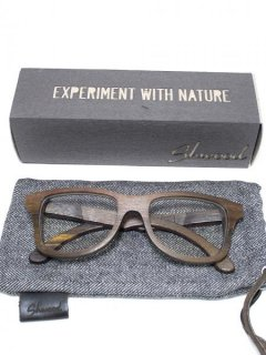 【Shwood】CANBY - ROSEWOOD ( CLEAR LENS )