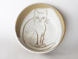 猫絵豆皿01