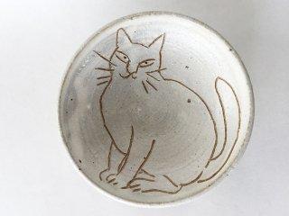 猫絵豆皿03