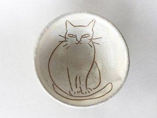 猫絵豆皿04