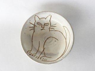 猫絵豆皿05