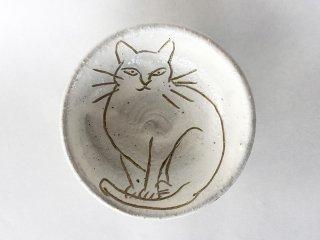 猫絵豆皿06