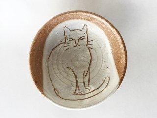 猫絵豆皿07
