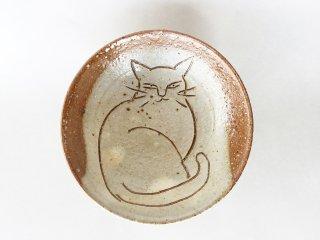 猫絵豆皿09