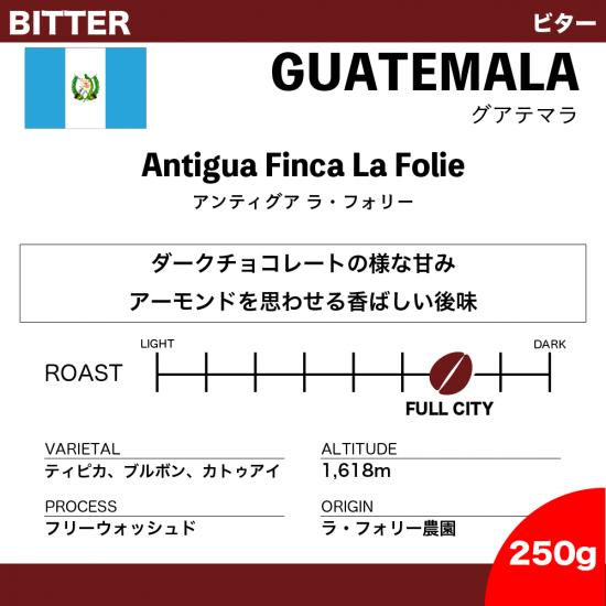 【250g】グアテマラ アンティグア ラ・フォリー