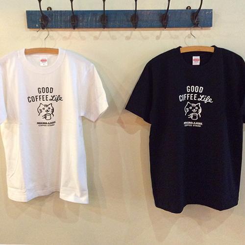 MICRO-LADY COFFEE STAND オリジナル Tシャツ [Good Coffee Life]