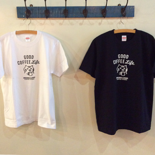 MICRO-LADY COFFEE STAND オリジナル Tシャツ [Good Coffee Life]