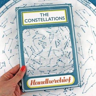 【ハンカチ/バンダナ】Constellations Handkerchief【SUKIE】