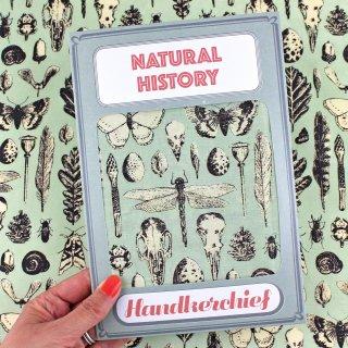 【ハンカチ/バンダナ】Natural History Handkerchief【SUKIE】