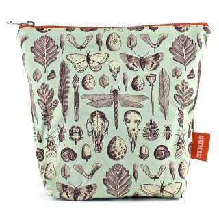 【ポーチ】 Natural History Print Pouch【SUKIE】