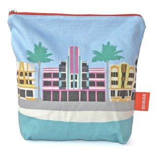 【ポーチ】 Miami Deco Pouch【SUKIE】