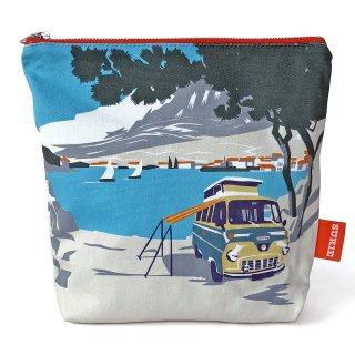 【ポーチ】 Beach Camper Pouch【SUKIE】