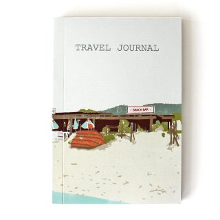【トラベルジャーナル】Beach Shack Travel Journal【SUKIE】