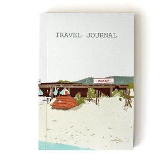 【トラベルジャーナル】Beach Shack Travel Journal【SUKIE】
